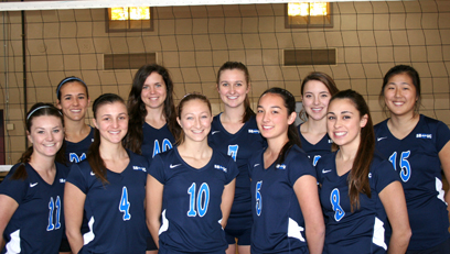 Santa Barbara Volleyball Club's 18 Blue.