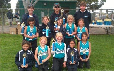 Goleta Thunder takes second in Five Cities softball tournament