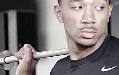 VIDEO: Inside look at Orlando Johnson's offseason training