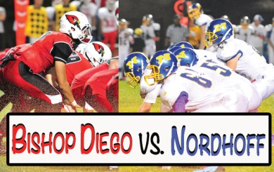 In-Game Updates: Bishop Diego vs Nordhoff CIF Football