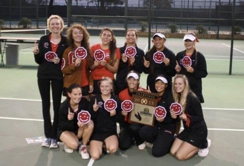 Carpinteria won its second straight CIF Division 5 girls team tennis championship.