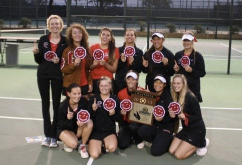 Carpinteria won its second straight CIF Division 5 girls team tennis championship.