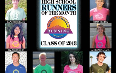 2013 High School Runners of the Month