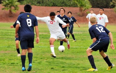 Bishop Diego vs. Mary Star of the Sea CIF soccer