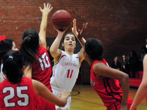 Jordyn Lilly - Bishop Diego Girls Basketball