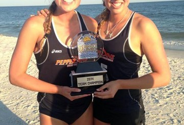 Caitlin Racich wins second national title at Pepperdine