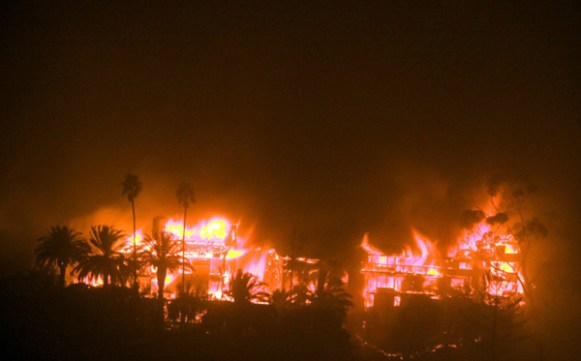 Jerry Siegel lost his Montecito home in the Tea Fire of 2009.