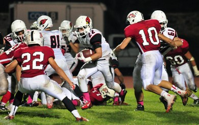 Bishop Diego has too many weapons for Carpinteria, 33-7