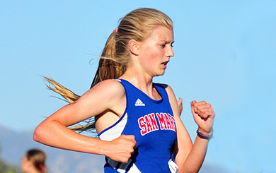 Schroeder, San Marcos girls, DP boys win county XC titles