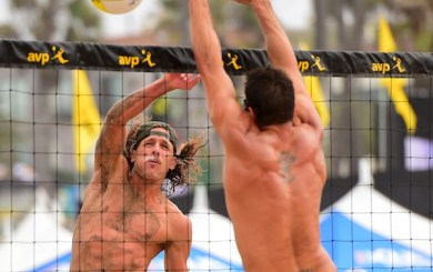 Casebeer, Brunner win AVP awards