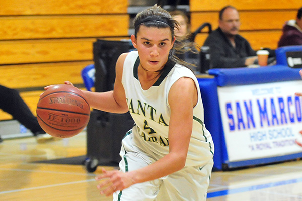 Amber Melgoza pumped in 50 points in a CIF quarterfinal game.