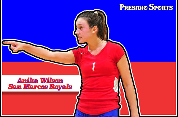 Anika Wilson is Presidio Sports' All-City Girls Volleyball Player of the Year.