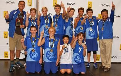 Santa Barbara Coast Volleyball Club Boys 14s — Presidio Sports