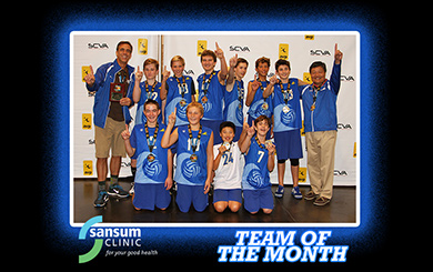 Team of the Month: SB Coast 14s rise to challenge in junior national qualifier