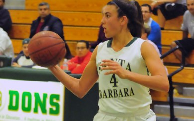 GBK: Melgoza pours in 50, Dons blitz Summit, 89-76, to reach semis