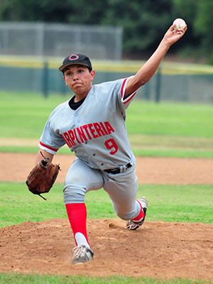 Carpinteria's Diego Contreras retired the final 10 batters he faced.