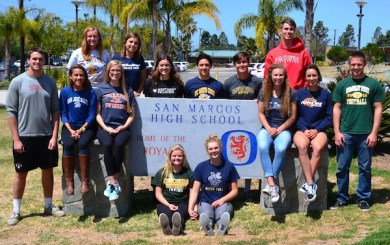 San Marcos athletes going to the next level