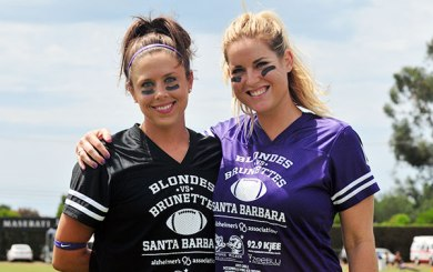 Blondes vs. Brunettes - Alzheimer's Association