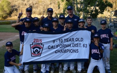 Goleta Valley South 10U Stars hold off DP for District 63 title