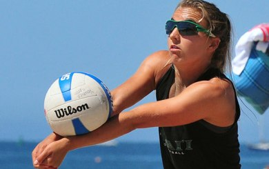 Beach volleyball: Spieler claims her 4th CBVA open title