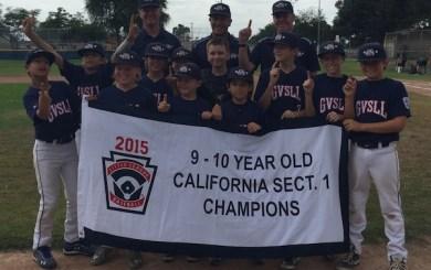GVSLL captures 10U Section 1 championship