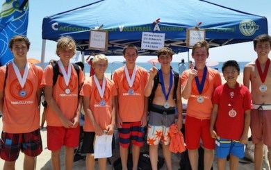 Four local teams prevail in first CBVA youth tourney