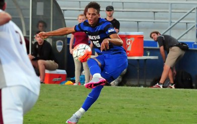 MSoc: Gauchos prevail on Feucht's two penalty kicks
