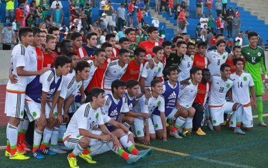 Two late goals lift Mexico's U17s past SB Soccer Club, 3-2
