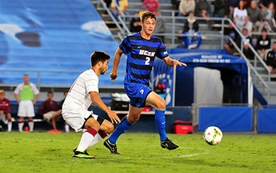 MSoc: Gauchos show more firepower in first practice