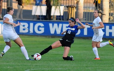 WSoc: Ball's overtime goal clinches win for Gauchos