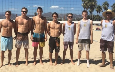 Dons beat Camarillo, AG on the sand