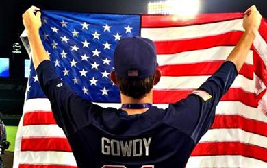 Gowdy is a world champion with USA U18s