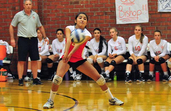 Summer Soto - Bishop Diego Volleyball
