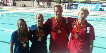Hill, Roemer clinch Gold; Cole, Ehrhardt take Silver for Team USA