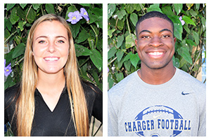 Nwosu, Hyatt named Athletes of the Week