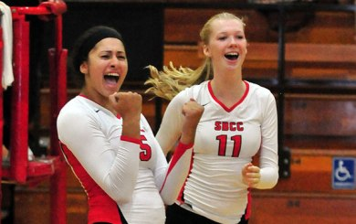 WVB: Vaqueros wrap up 4th straight WSC title