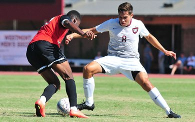 MSoc: Quintero nets golden goal, Warriors shut out The Master's