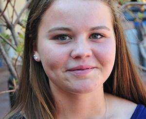 Kaitlynn Miller is Phil Womble Award winner at San Marcos