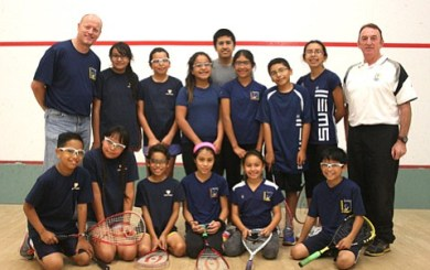 Swinging for Success with Squash