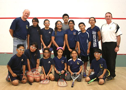 Santa Barbara School of Squash (Tyler Hayden Photo)