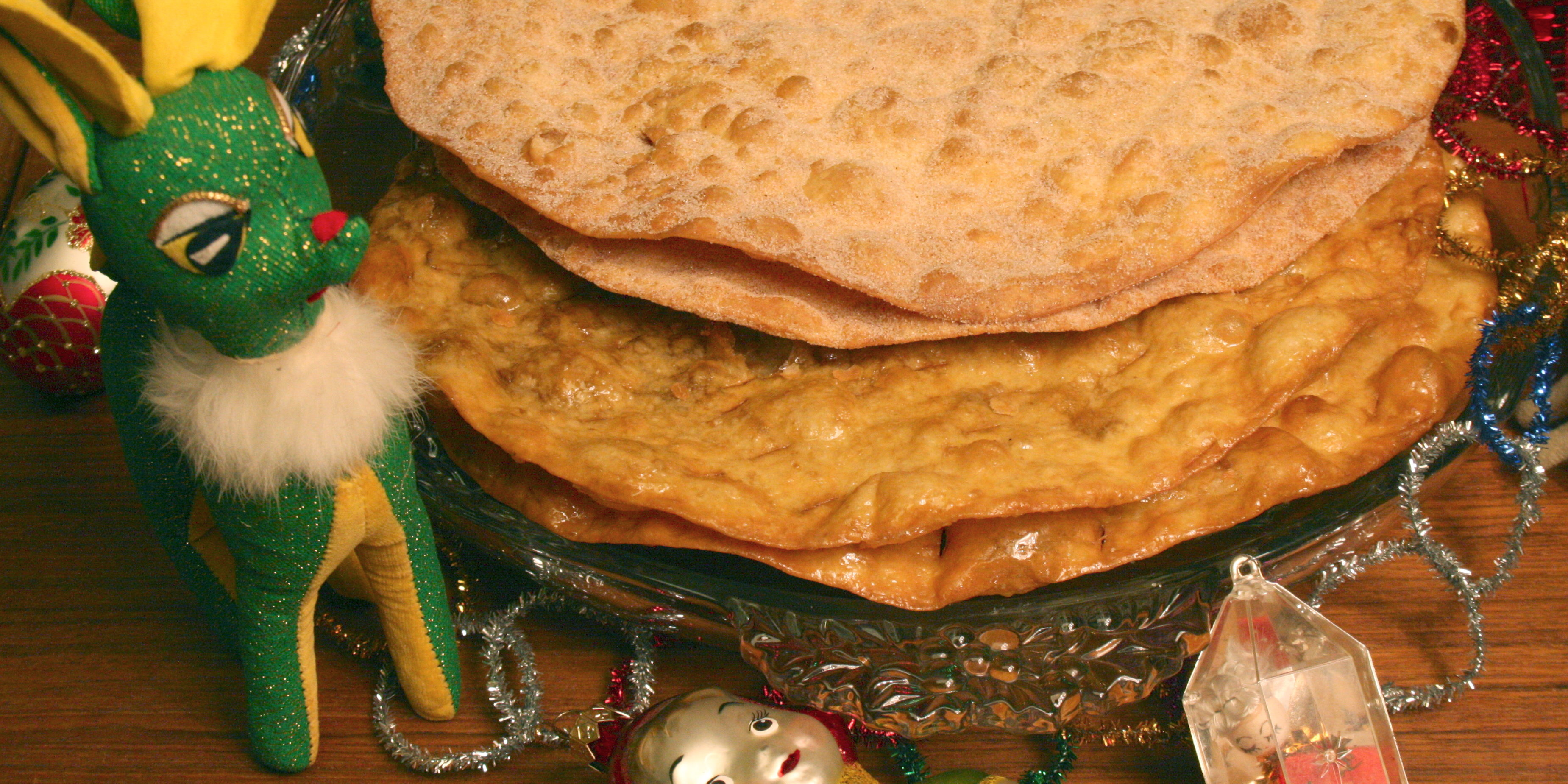 Easy to make Buñuelos for a touch of a Mexican Christmas!
