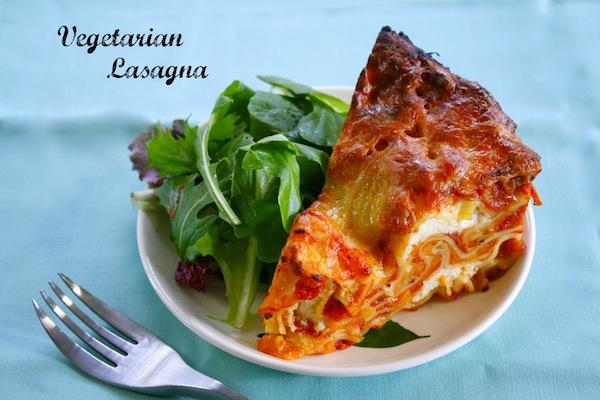Crock Pot Vegetarian Lasagna #MamaSabeMas
