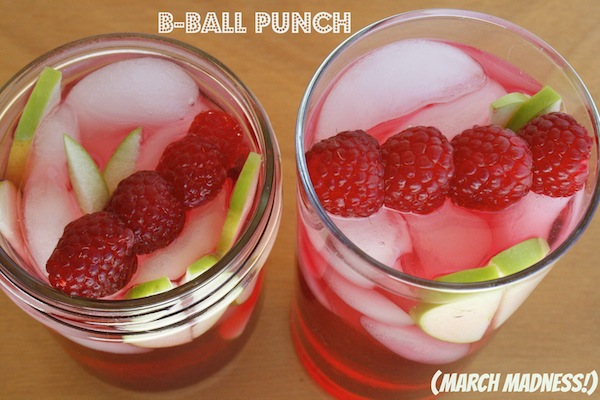 B-BALL PUNCH: WELCOME MARCH MADNESS