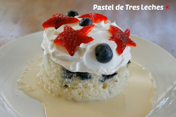Fresh Berry Pastel De Tres Leches