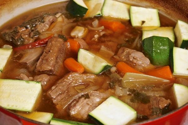 zucchini-in-short-rib-soup
