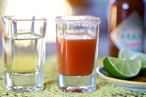 sangrita and tequila meet and become completo #TabascoTastemakers