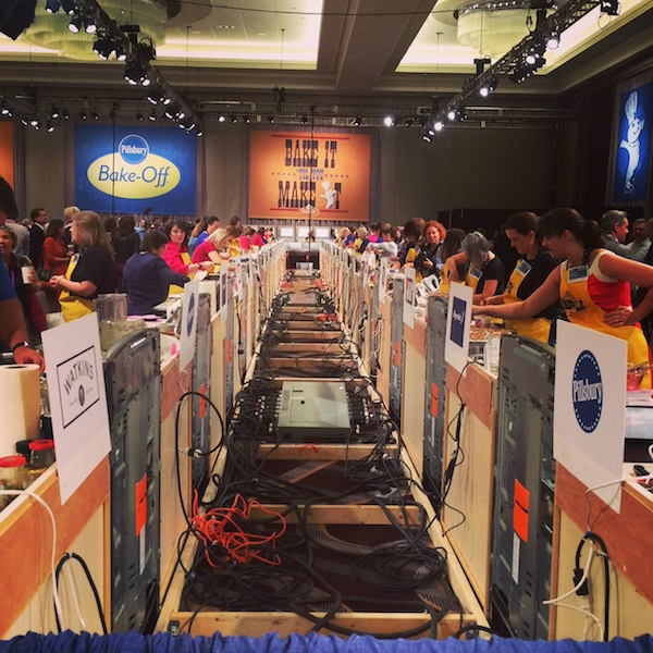 A behind the scenes look at all the contests in the Pillsbury Bake-off power supply