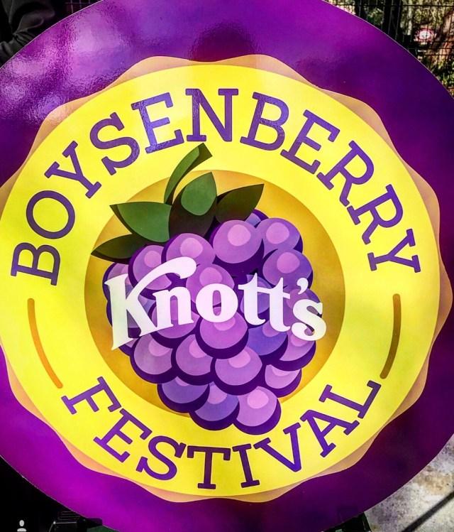 Boysenberry Knotts Festival