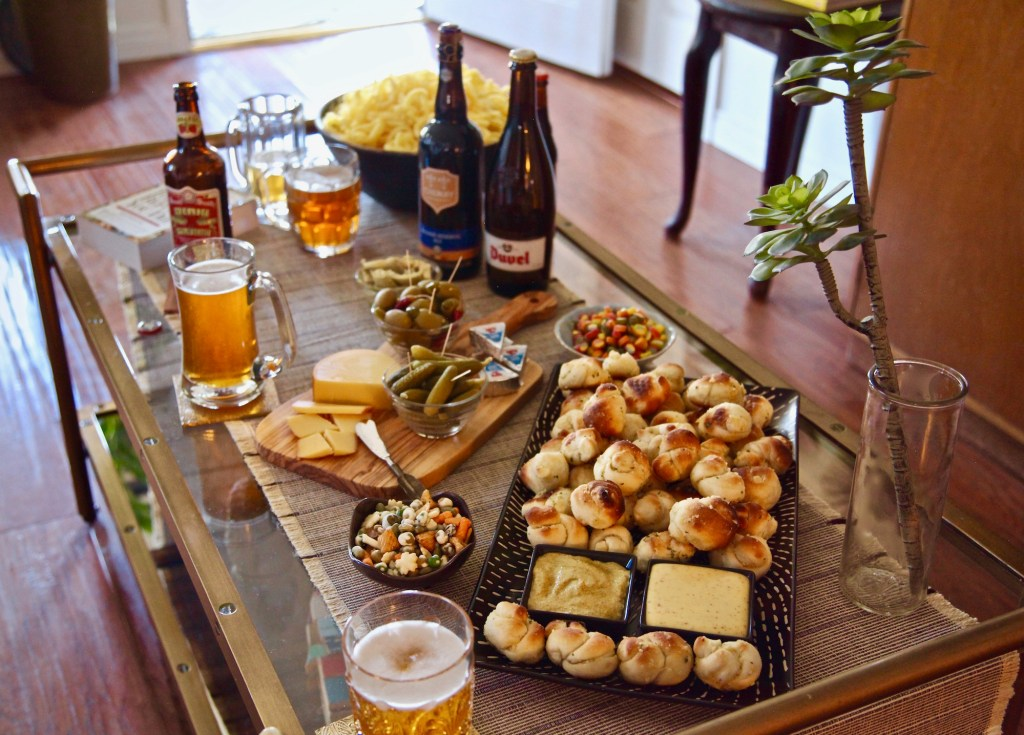 Garlic knots beer and cost Plus World Market