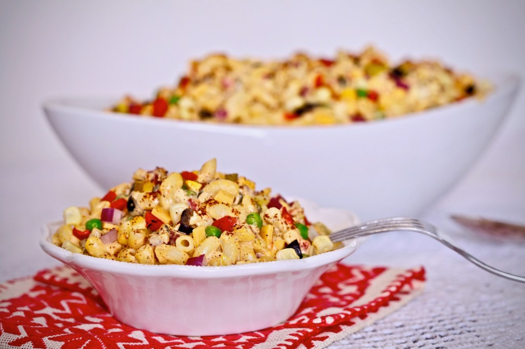 Spicy Chipotle Macaroni Salad Recipe